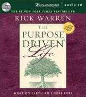 Purpose Driven Life - What On Earth Am I Here For -- Audio CD