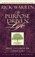 Purpose Driven Life (MM4-pack for Outreach) - What On Earth Am I Here For?