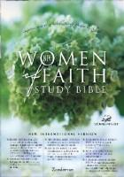 Women Of Faith Study Bible - With Silver Gild