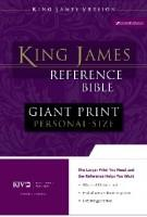 Giant Print Reference Bible Personal Size