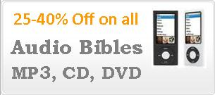 Audio Bibles on Sale
